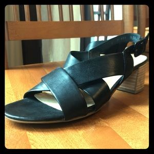 Paul Green Reese Sandals, Black size 7.5